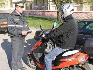 Зарегистрировать мопеды и скутеры можно до 1 ноября 2010 г